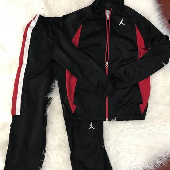 Air Jordan Track Sweat Suit Kids